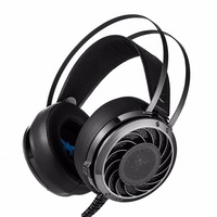New 3 5mm Stereo Gaming Headset Combaterwing M160 Gaming Headphones With LED Light For IPhone PC