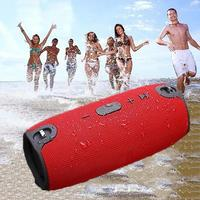 Waterproof Portable Outdoor Column Wireless Bluetooth Speaker Box Sound Bar USB Subwoofer Sound Box MP3 Loudspeaker for jbl