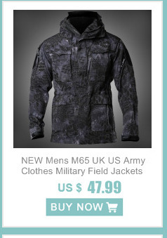 M65 UK US Army Clothes Windbreaker Military Field Jackets Mens Winter/Autumn Waterproof Flight Pilot Coat Hoodie Three colors 20