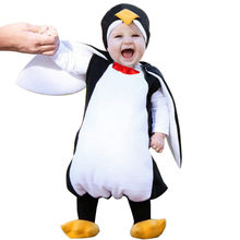 baby clothes Cute Newborn Baby Photography Props Cosplay Cartoon Penguin Romper Footwear Outfits dropshopping Ship From US 1009(China)
