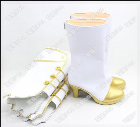 Love Live! Eli Ayase Ellie Kousaka Honoka Minami Kotori Sonoda Umi Cosplay  Wedding White Shoes -in Shoes from Novelty   Special Use on Aliexpress.com  ... 7619bb5fac48