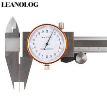 Dial Stainless Steel Metal Vernier Caliper Dial Caliper 0.02mm Shock Proof 150 mm Caliper Micrometer Gauge Measurement Tool недорого