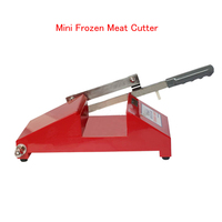 Newest Mini Frozen Meat Processor Household Mutton Beef Fat Slicer In Hot Sale Color Red