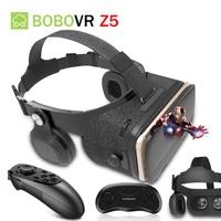 Original BOBOVR Z4 Update Z5 VR 3D Box Helmet Virtual Reality Glasses Smartphone VR Headset for Android 4.7 6.2''In Mobile Phone
