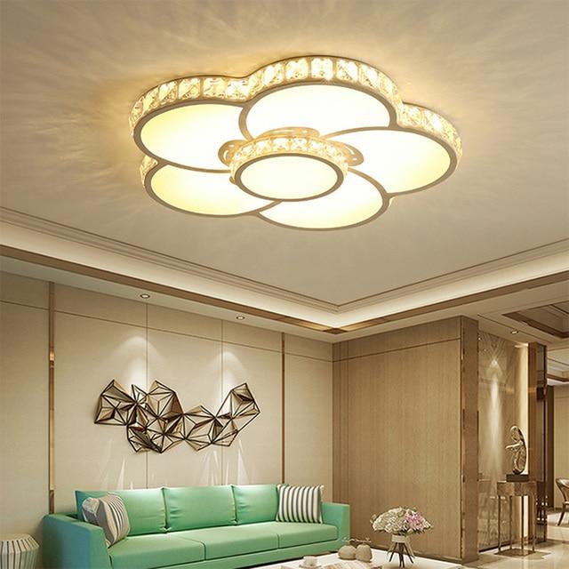 kitchen overhead lights american standard faucet repair ceiling lighting led 110 220v flush mount light lustre luminaire 36w chinese