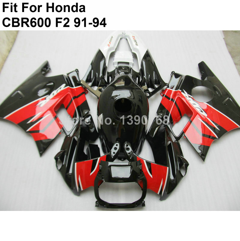 ⊰Venta caliente carenados para Honda CBR600 F2 91 92 93 94 kit de ...