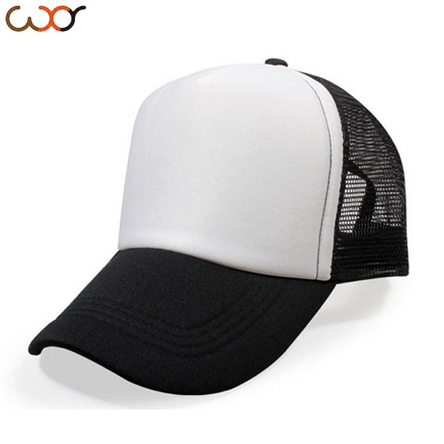 f20c4e7a41103 Truck Hat DIY Customized Net Cap Blank Light Panel Net Cap Advertisement Hat  Company Customized