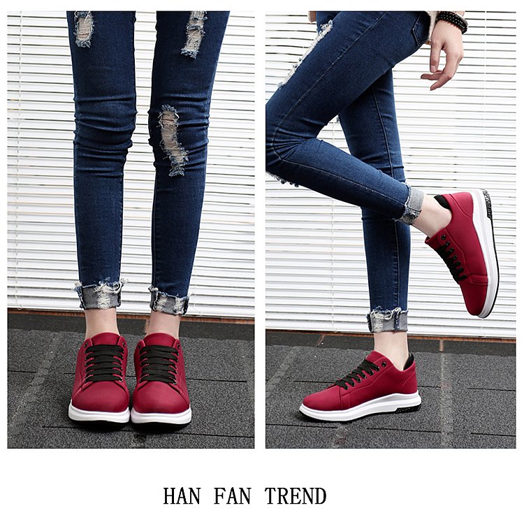 Stretch Fabric Casual Shoes Woman 2017 Fashion Spring Lace Up Ladies Shoes Breathable Women\'s Vulcanize Shoes Superstars ZD68 (23)