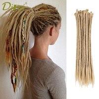 DIFEI Crochet Braids Dreadlock Extensions Kanekalon Synthetic Hair For Men Or Women 20 Inch Light Weight Braiding Hair