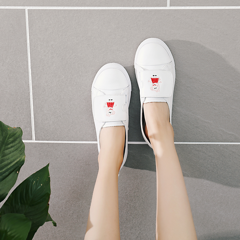2018 Spring/autumn New Piglet Page Students To Match The Korean Version of The Flat Small White Single Shoe Women Size 35-40 G5 legislating together – the white house page 8