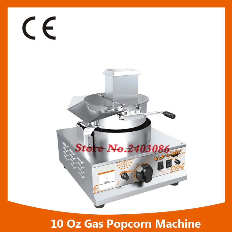 high efficiency automatic stainless steel kitchen equipment 10Oz gas popcorn making machine for sale fast food equipment automatic use popcorn machines for sale high quality use popcorn machines for sale caramel popcorn machine