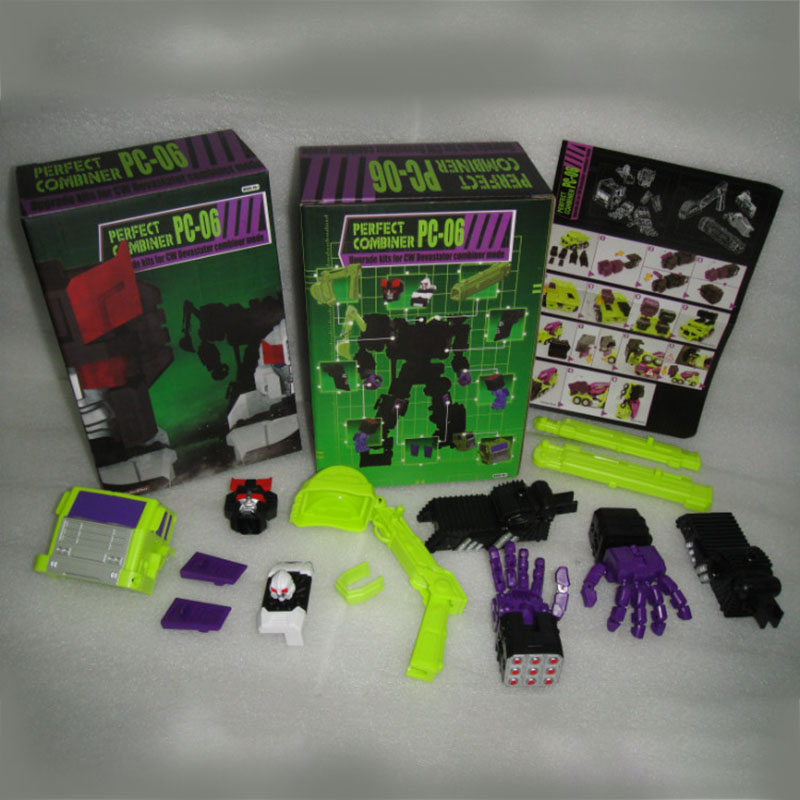 (IN STOCK) Toy PerfectEffect PE PC-06 Perfect Combiner Upgrade Kit For CW Devastator Combiner Mode