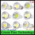 1 unidades de Dimmable 3 W 5 W GU10 B22 E14 GU5.3 MR16 LED Spotlight COB led downlight Bombilla droplight luz led lámpara de Luz led iluminación