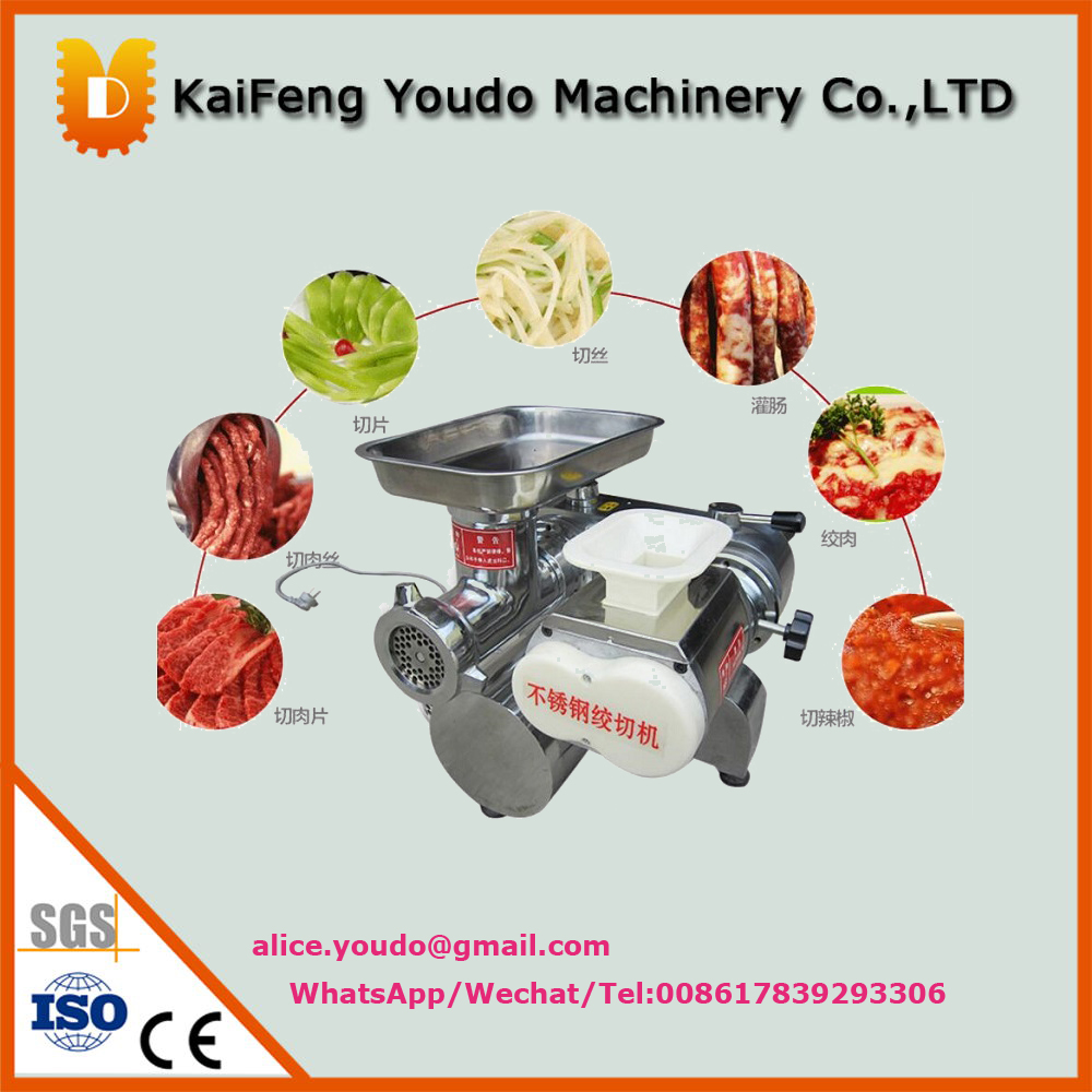 UDJQ-128 multiple functions meat mincer and vegetable  cutting machine /cutter machine price lucog home cutting machine meat grinders kitchen mincing mincer with stainless blade manual cutter hand slicer for vegetable