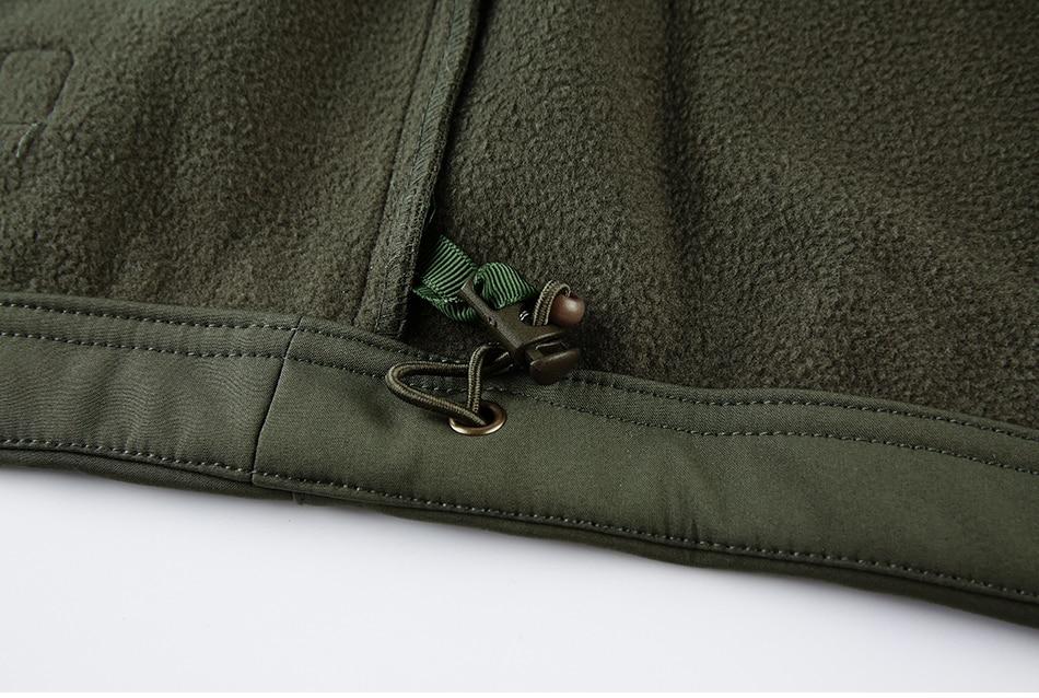 S.ARCHON Shark Skin Soft Shell Tactical Military Jacket Men Fleece Waterproof Army Clothing Multicam Camouflage Windbreakers Men 22