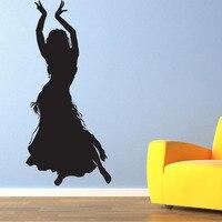 BELLY DANCER Vinyl Wall Art Decal Dance Studio