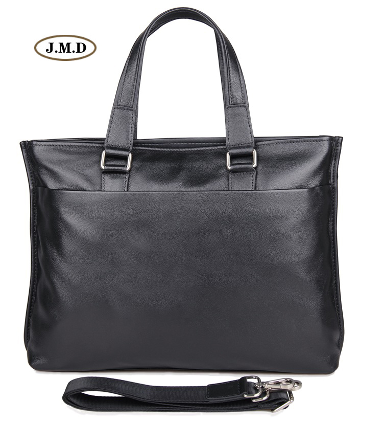 J.M.D Famous Brand Genuine Leather Simple Design Male Fashion Briefcase Laptop Bag Shoulder Bag Crossbody Bag Handbag 7328AJ.M.D Famous Brand Genuine Leather Simple Design Male Fashion Briefcase Laptop Bag Shoulder Bag Crossbody Bag Handbag 7328A