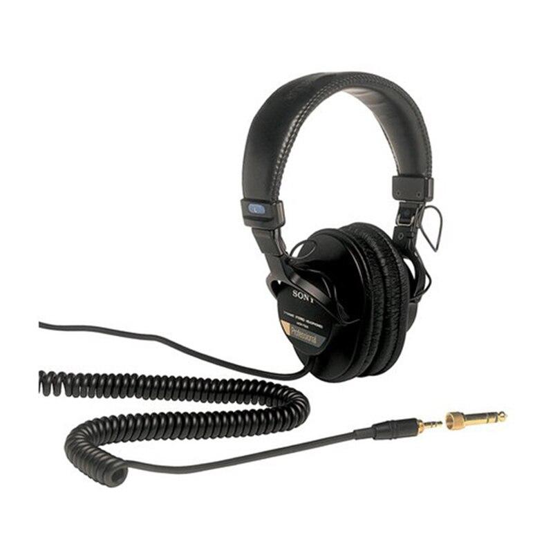 Original Sony sur l'oreille casque casque inclus DJ moniteur bruit annuler écouteur 3.5 MM/6.3 MM pour Xperia XZ3 Iphone SAMSUNG - 2