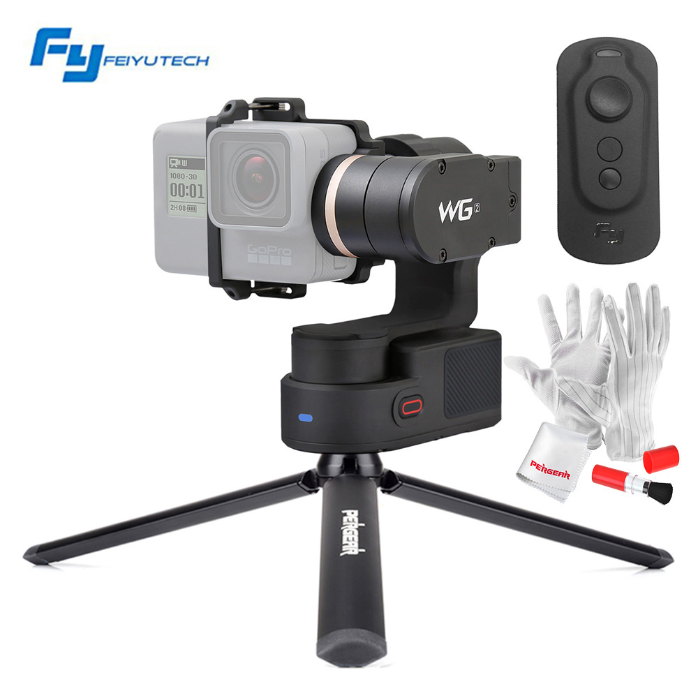 FeiyuTech Feiyu WG2 FY-WG2 with Remote Control 3-Axis Wearable Waterproof Gimbal for Gopro 4/5/Session and Similar Size Cameras feiyu tech fy wg lite single axis
