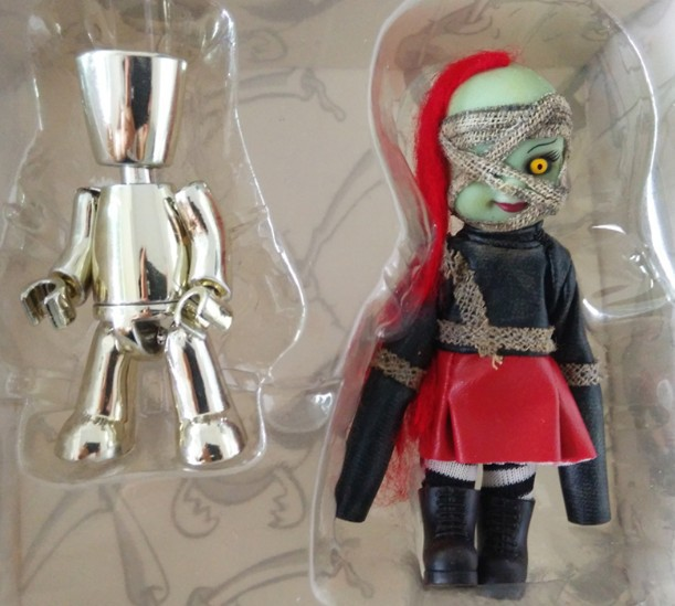 older ver. Living Dead Dolls Halloween  hellraiser Zombie Horror model archetype transparent ver she