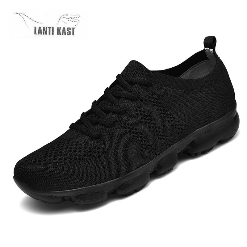 Plus Size Breathable Men Mesh Sports Sneakers Youth Fashion Comfortable Casual Running Shoes