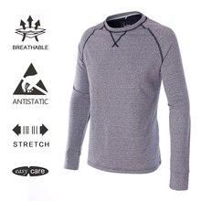 EAGEGOF качество мужские с длинным рукавом гольф поло рубашки для мальчиков Crewneck повседневное Спортивная демисезонный теплая одежда мужской