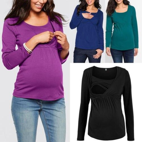 Women Pregnant Maternity Clothes Nursing