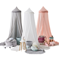 New Princess Baby Breathable Mosquito Crib Netting Net Lace Bed Canopy Bedding Dome Tent Curtain Size 50x240cm