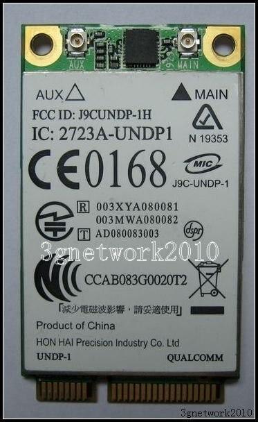 Compaq Mini 110 AT2410 EV-DO 3G HSDPA for AT&T Mobile Broadband+GPS