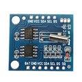 I2C RTC DS1307 AT24C32 Tiempo Real Módulo Reloj Para AVR ARM PIC SMD Para Juguetes RC Modelos