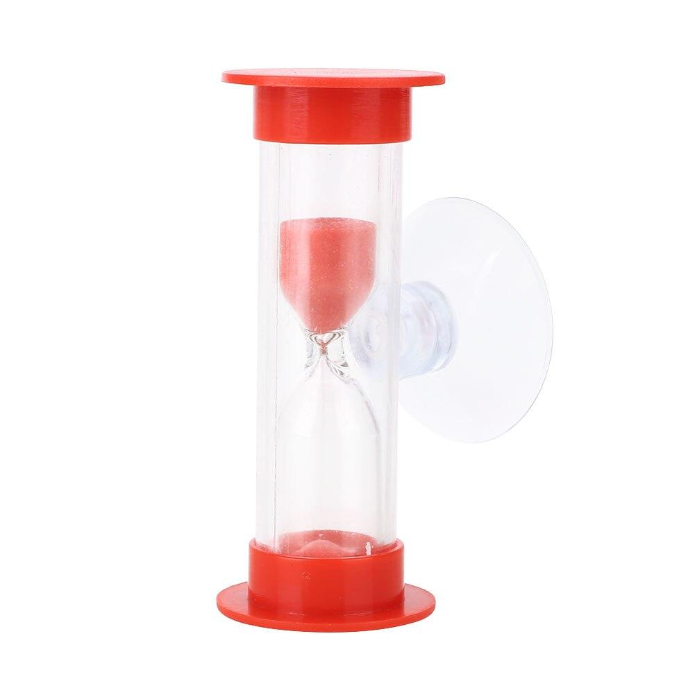ABS душ таймер песочные часы с присоской ванная комната время для купания гаджет практичный и удобный красочный таймер для купания - Цвет: red