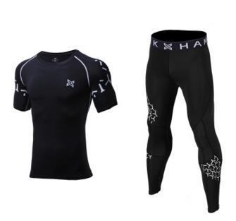 3 Pieces Mens Sports Suits Quick Dry Sets 3