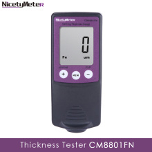 Nicetymeter CM8801FN Fe and NFe 2 in 1 Car Body Paint depth Gauge Coating Thickness Meter Thickness Tester Simple Easy Using gy910 handheld digital coating thickness gauge tester fe nfe coatings lcd display