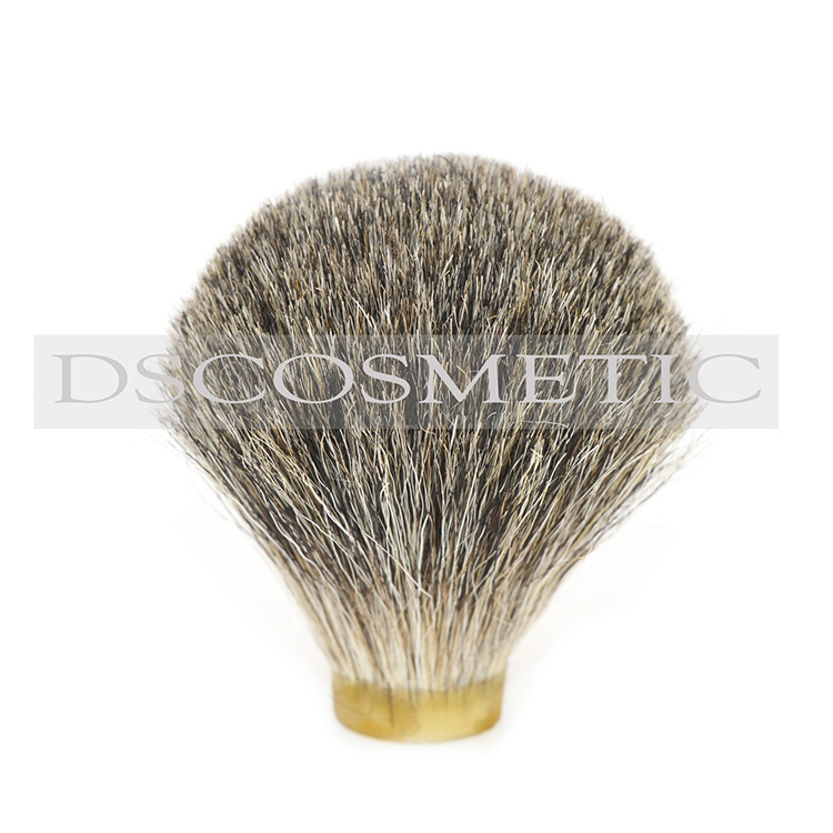 Dscosmetic 22mm Grey Pure Badger Hair Beard Head Shaving Brush Knot
