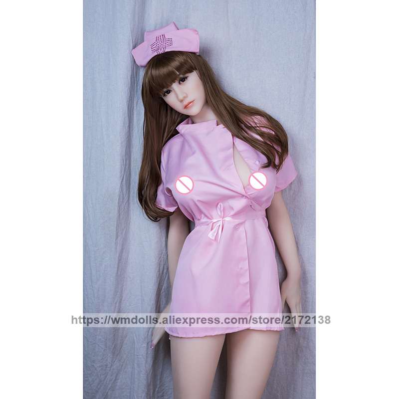 WMDOLL 168cm Real Silicone TPE Sex Dolls Realistic Robot Big Breast Sexdoll Lifelike Adult Anime Love Doll For Men in Sex Dolls from Beauty Health