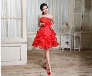 free shipping fasion 2016 Hot Sale A-line Off the Shoulder Party vestido de festa longo Embroidery custom red   bridesmaid     Dresses