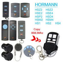Hormann HSM2 868, HSZ2,HSE2,HSE4,HSP2,HS2,HSM4 868mhz replacement remote control top quality / Battery Included / Free Shipping(China)