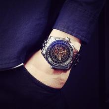 GUCAMEL drobny pasek stalowy automatyczny zegarek mechaniczny duży zegarek męski zegarek sportowy wodoodporny zegarek relogio męski zegarek męski tanie tanio Mechaniczne Zegarki Na Rękę 22mm Odporny na wstrząsy Odporne na wodę Diver Pływać Okrągły 5Bar Papier Bransoletka zapięcie
