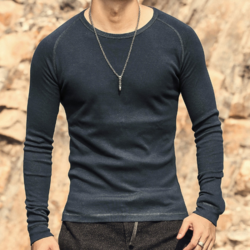 2016 new arrival spring casual t shirts raglan long sleeve for Men s fashion casual t shirts
