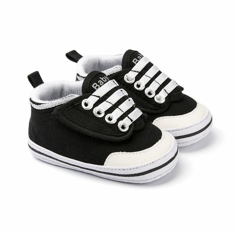 c4ba8a9b76bd8e Girl Boy Shoes Hookloop Canvas Classic Sports Sneakers Newborn Baby ...