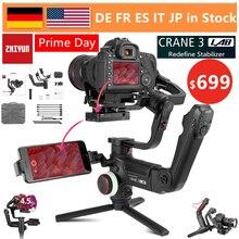 ZHIYUN Crane 3 LAB 3-осевая Беспроводная FHD камера для передачи изображения стабилизатор для sony A7M3 A7R3, Canon 1DX II 6D, Nikon D850 DSLR
