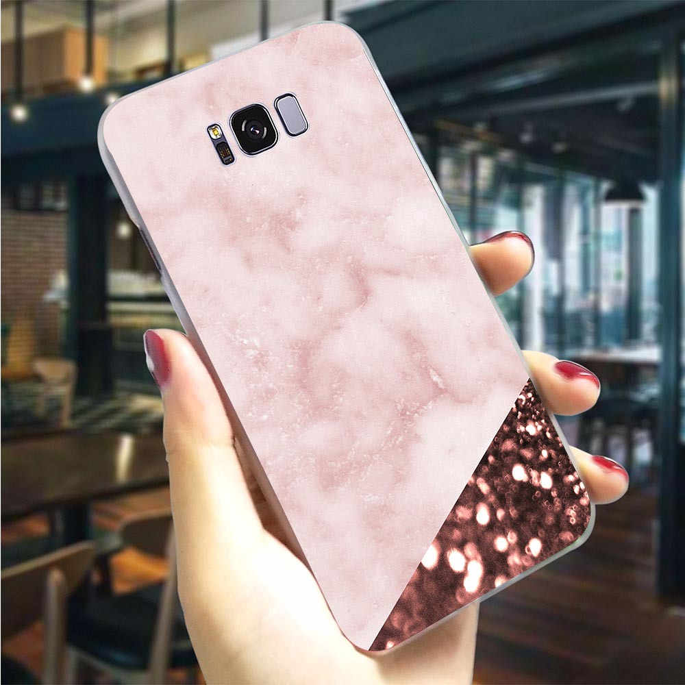 Hard Cover for Galaxy A50 Case Love Marble Cases for Samsung A6 Cover A7 A5 A3 A8 A9 A10 A20 A30 A40 A70 Plus Cases Back