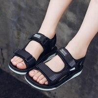 Boys sandals 2019 new male big children Korean version of summer children's shoes children soft bottom children's shoes