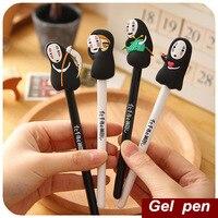 42 Pcs Lot Cute Gel Pen Japan Spirited Away Kawaii Ghost Pen Caneta Ballpen Gift Stationery