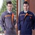 GRÁTIS Set transporte de Jacket + Pants uniforme engenheiro de faixa reflexiva para a segurança use-010 workwear