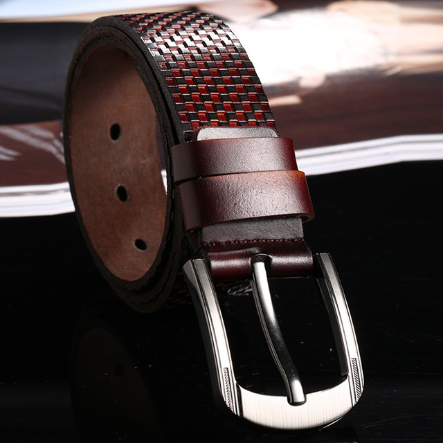 Men'S Genuine Leather Belt...