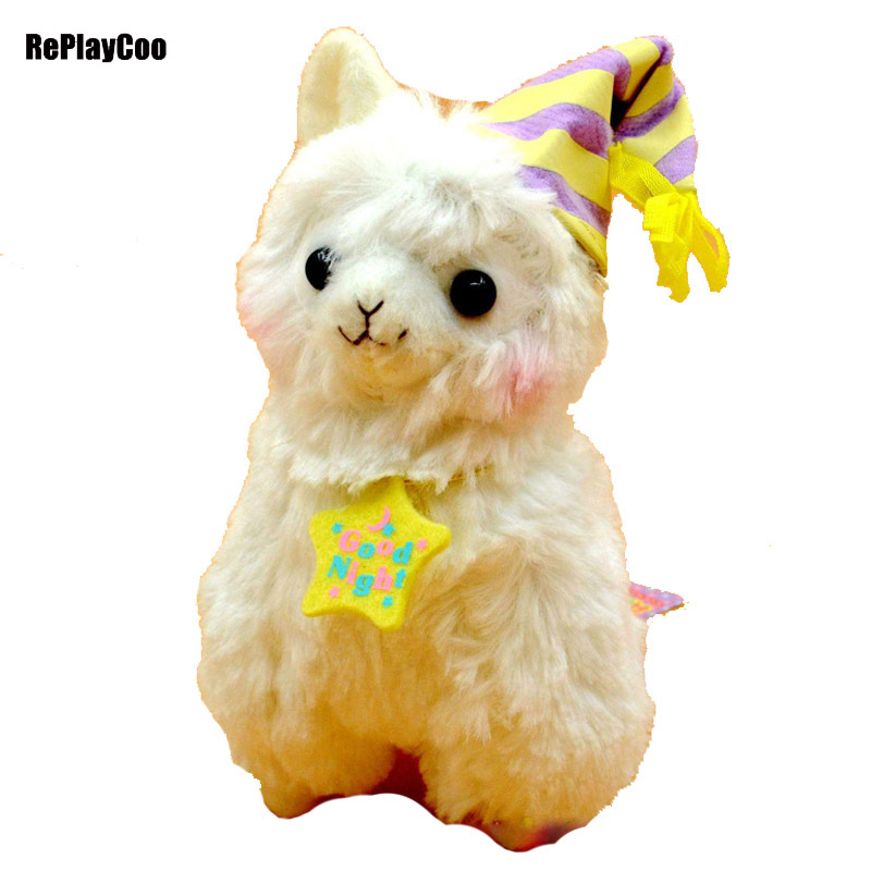 37CM/15'' Kawaii Alpaca Plush Toy Alpacasso Stuffed Animal Soft Alpaca Stuffed Kids Toys Baby Toy Alpacasso Gift For Children 02 noble people костюм двойка три кармана для мальчика 18608 26 чёрный noble people