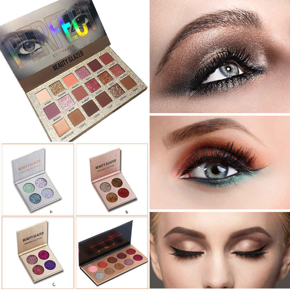 Eye Shadow Beauty Essentials Cosmetic Matte Eyeshadow Cream Eye Shadow Makeup Cosmetic Pressed Glitter Palette Eyeshadow Palette Sombras Maquillaje #3 Less Expensive
