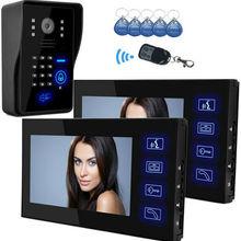 Doorbell Phone-Intercom Video-Door Access-Control-7inch Home Monitor System-Kit Yobangsecurity