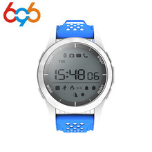 696 NO.1 F3 Smart Watch Bracelet IP68 Waterproof Hiking Sports Smartwatch Fitness Tracker Wearable Devices For Android iOS